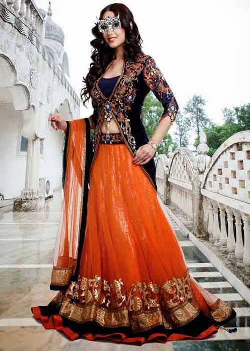 Goodluckwears Embroidered Jacket Lehenga