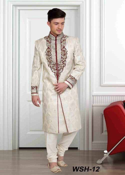 Goodluckwears Wedding Sherwani Suit